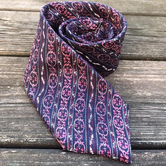 Dior Other - Christian Dior Vintage Silk Necktie Neck Tie